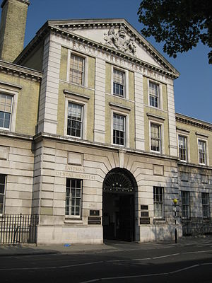 UCL Eastman Dental Institute - Eastman Dental Hospital (old Royal Free building)