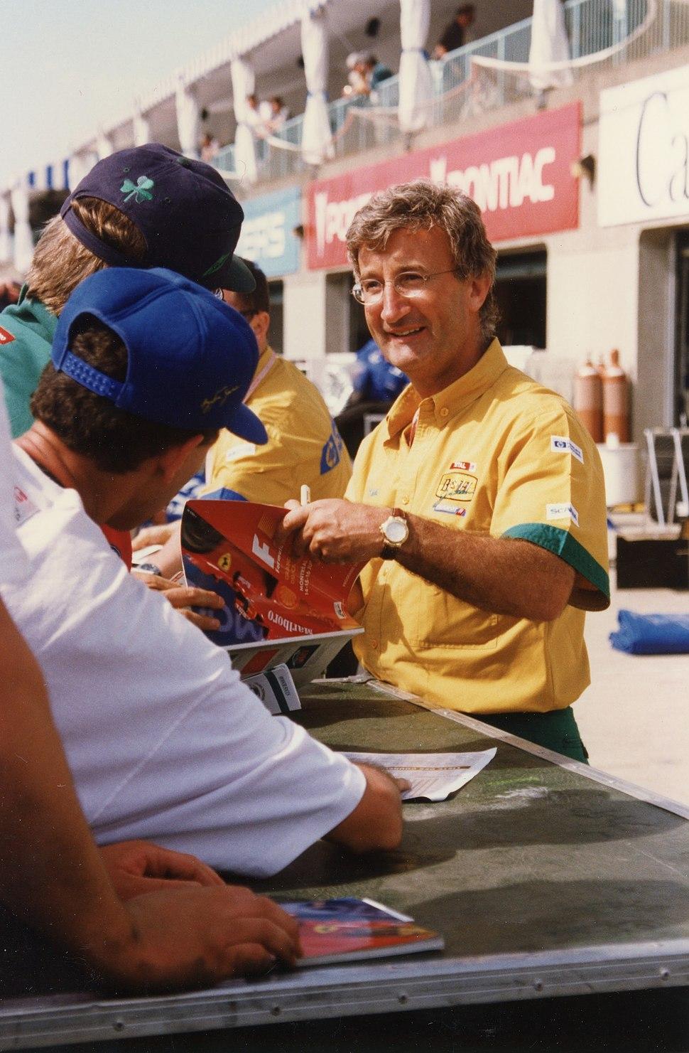 Eddie Jordan 1996