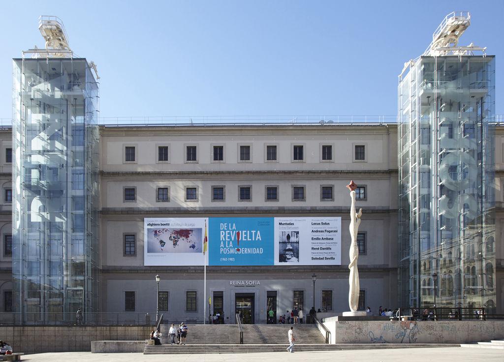 Edificio Sabatini. Museo Nacional Centro de Arte Reina Sofía. 12 best museums in Spain.