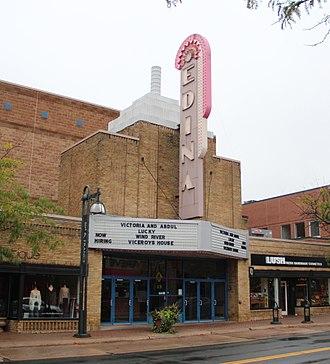 Edina, Minnesota - Edina Cinema, a theater in downtown Edina that opened in 1934.