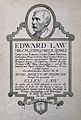 Edward Law. Pen drawing with wash. Wellcome V0003432.jpg