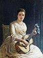 Edwin Long (1829-1891) - Mary Dickinson (1853–1921), Viscountess Clifden - 884933 - National Trust.jpg