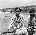 Een Javaanse vrouw in Nickerie, Bestanddeelnr 252-5463.jpg