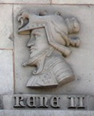 René II, Duke of Lorraine - Image: Effigie René II de Lorraine