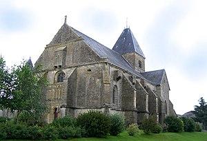 Verpel - Image: Eglise Verpel