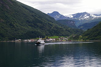 Norddal - View of Eidsdal