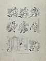 Eight illustrations of a man being bitten by a flea. Line bl Wellcome V0019978.jpg