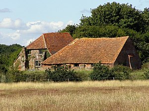 Keyhaven, Pennington, Oxey and Normandy Marshes - 18th-century salt boiling house