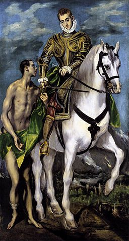 El Greco - St Martin and the Beggar - WGA10537