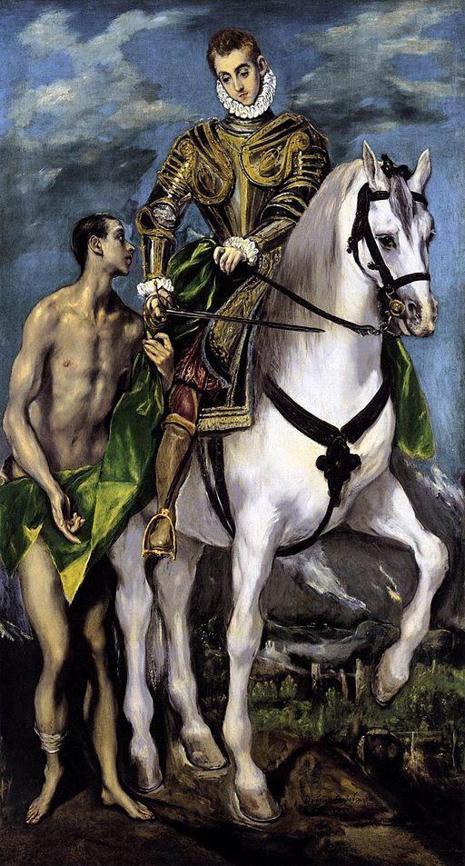 El Greco - St Martin and the Beggar - WGA10537