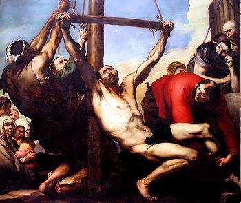 Martyrdom of St Phillip, 1639, Prado, Madrid