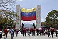 El pueblo venezolano acompañó los restos de su presidente Hugo Chávez Frías en la Academia Militar (8539060762).jpg