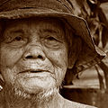 Elderly Chinese man, Pulau Ubin, Singapore - 20070225.jpg