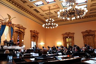 Jon A. Husted - Husted convenes the 54th Electoral College from Ohio on December 19, 2016 at the Ohio Statehouse.