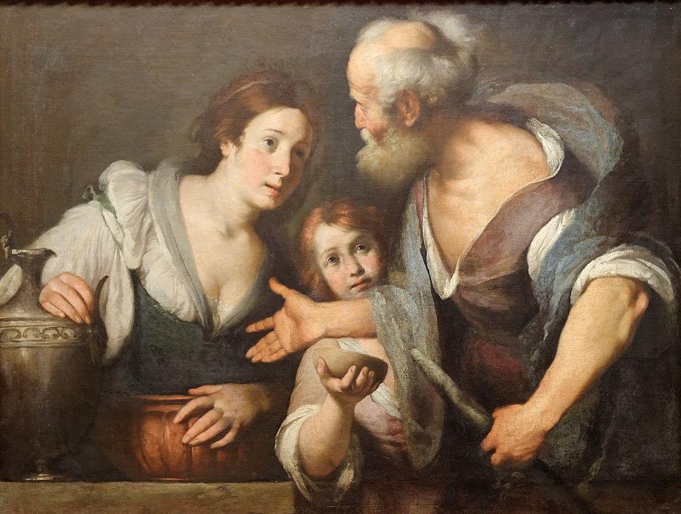 Elias and the Widow of Serepta Bernardo Strozzi