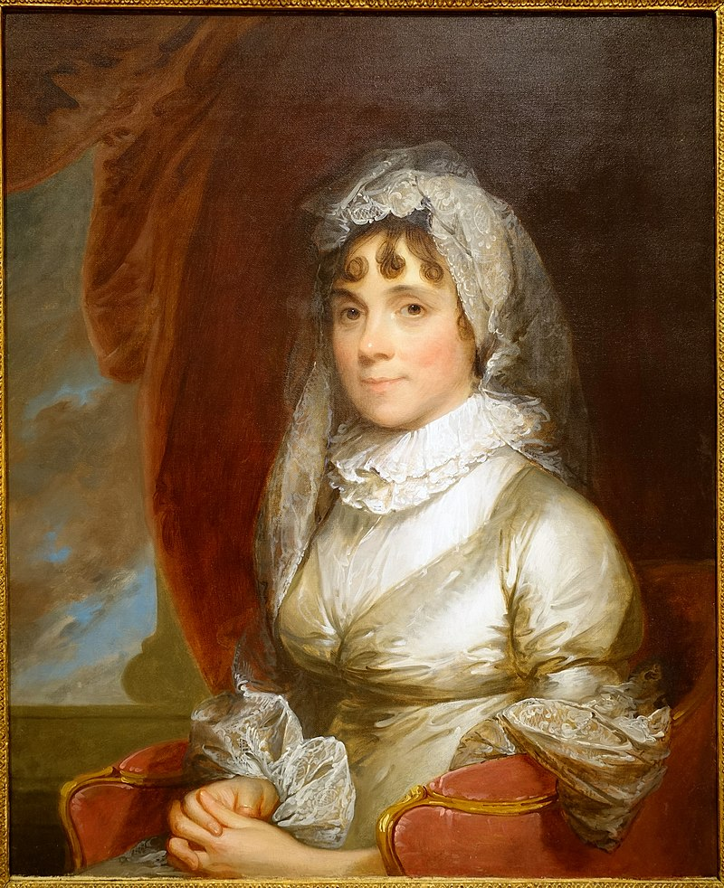 Elizabeth Chipman Gray (Mrs. William Gray) by Gilbert Stuart, c. 1800, oil on canvas - Peabody Essex Museum - DSC06984.jpg