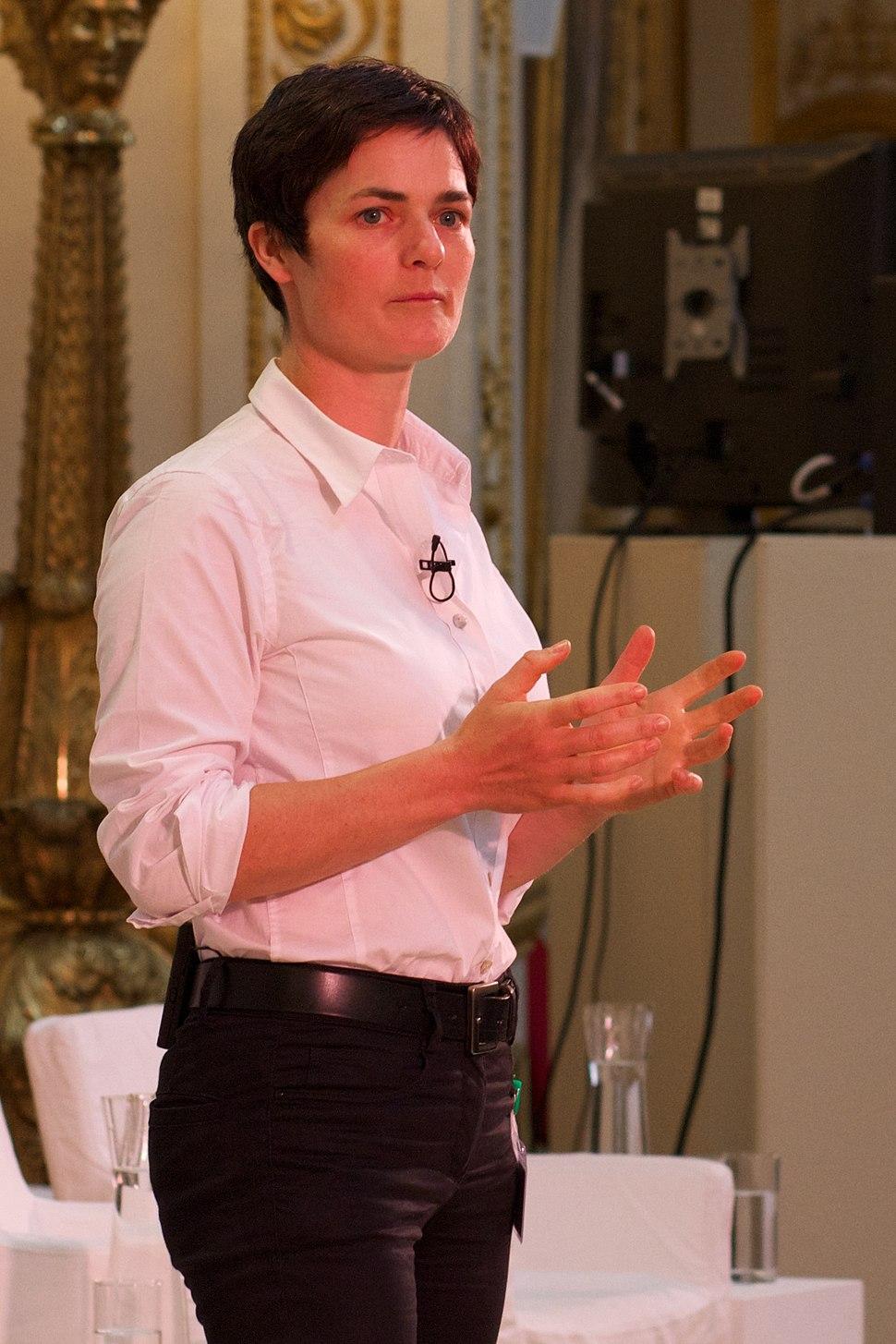 Ellen MacArthur in 2010