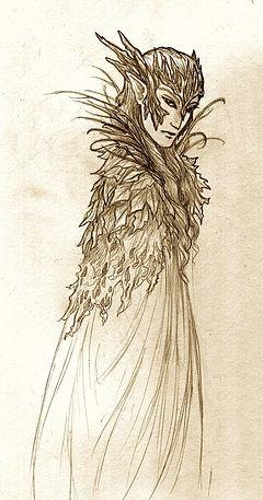 Elvenking (Rei dos Elfos), concepção artística do Sonya Lindsay (Nolwyn)