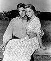 Elvis Presley Deborah Paget Love Me Tender 1957.jpg