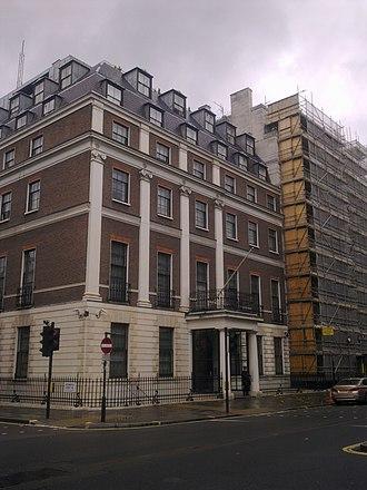 Embassy of China, London - Image: Embassy of China in London 1