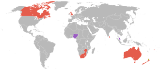 1950 British Empire Games - Countries that participated