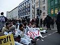 Ende Gelände blockade of the Invalidenstraße next to the Invalidenpark 21.jpg