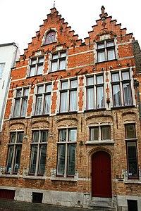 Enkelhuis, Het Schietspel, 1674 - Sint-Jakobsstraat 64 - Brugge - 29685.JPG