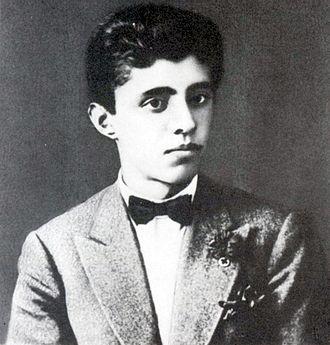 Enver Hoxha - Enver Hoxha at age 18