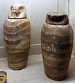 Epoca tarda o tolemaica, oggetti funerari da el hibeh, 664-30 ac ca. 02 canopi.JPG
