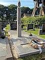 Erehofje tweede wereld oorlog op de begraafplaats van Ureterp.JPG