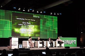 Eric Ries - Eric Ries at the TechCrunch Disrupt 2011 Conference with Scott Cook, the founder of Intuit and Kevin Systrom, the founder of Instagram