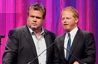 Jesse Tyler Ferguson - Jesse Tyler Ferguson with Modern Family co-star Eric Stonestreet at the 2010 HRC National Dinner