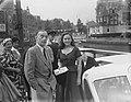 Erich Maria Remargue en Paulette Goddard met ronderh., Bestanddeelnr 905-2097.jpg
