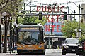 Essential Trips Only sign on King County Metro bus on Pike Street in Downtown Seattle.jpg