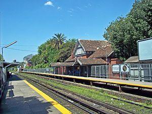Villa Pueyrredón - Pueyrredón Station