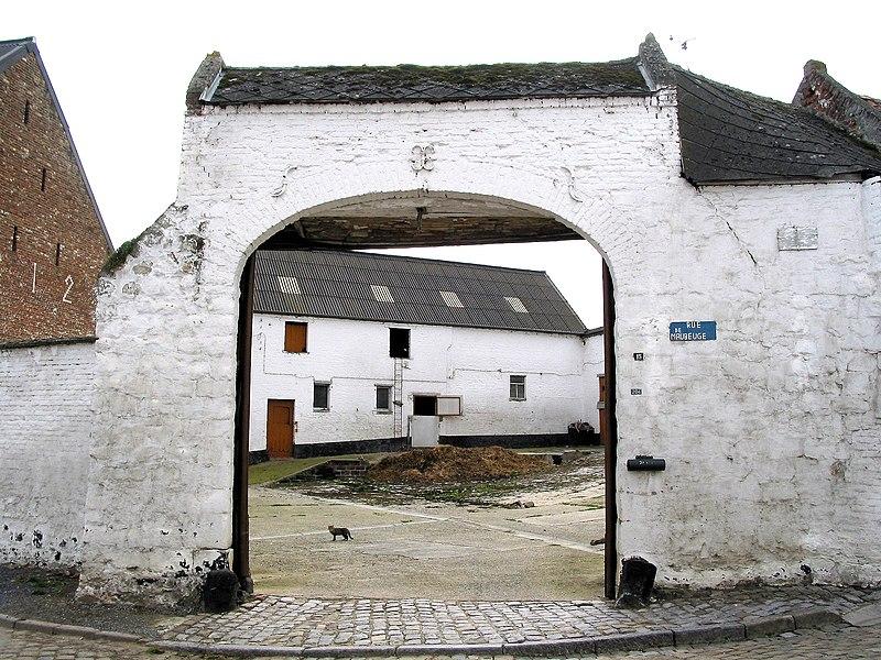 Estinnes-au-Val (Belgium), rue de Maubeuge, 15 - The Plumet Farm (1812)