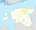 Estonia Lääne-Viru location map.png