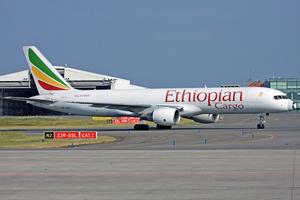 Ethiopian Cargo Boeing 757-200PF ET-AJS LGG 2011-6-3.png