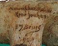 Eugène Bénet (sculpt) René Mathurin Jouhan, buste (tirage plâtre), Musée Château de Dieppe (signature).jpeg