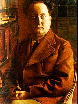 Eugène Martel Portrait de Jean Giono en 1937