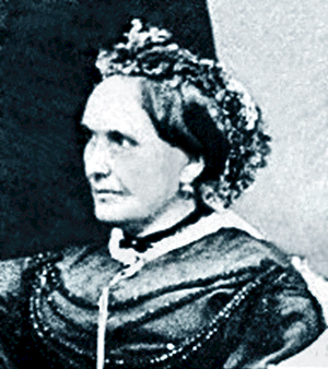 Wilhelm Lenk von Wolfsberg - Eva Aloisia Schreher, the general's spouse in 1865