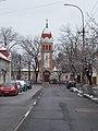 Evangélikus templom és a Pestújhelyi út, 2018 Pestújhely.jpg