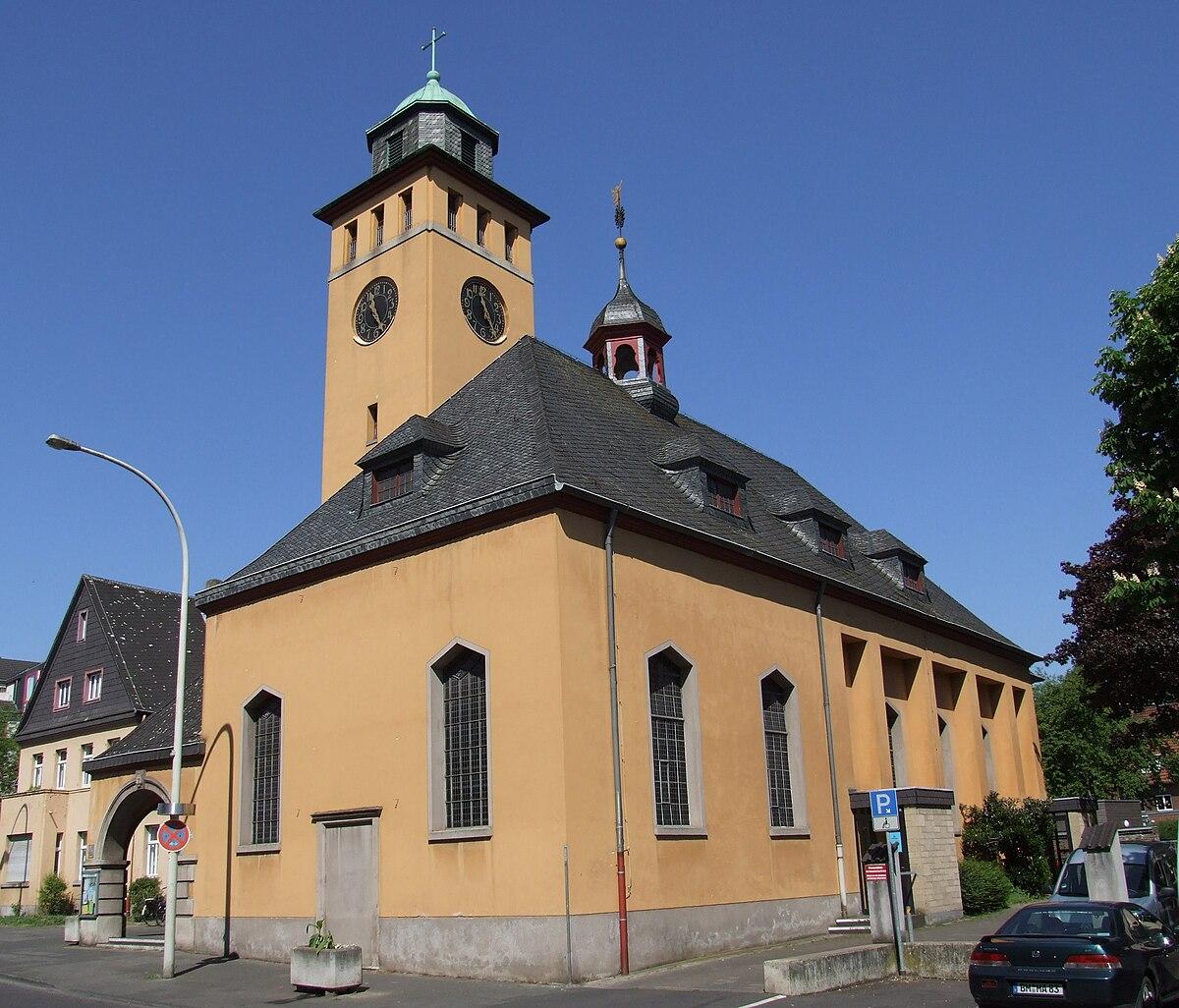 Evangelische Kirche Frechen Wikipedia