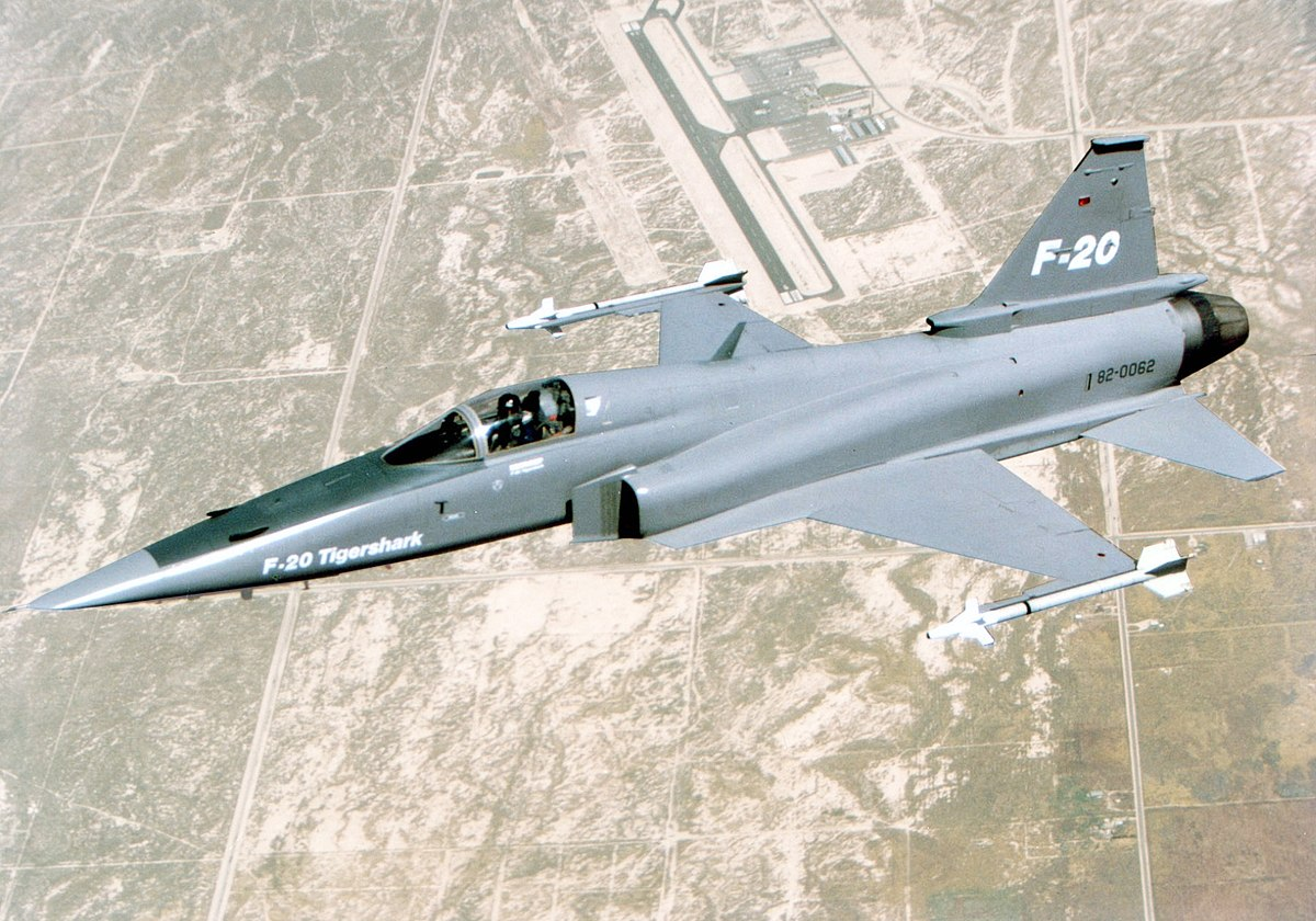 ノースロップF-20タイガーシャーク