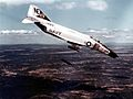 F-4B Phantom of VF-21 dropping bombs over Vietnam 1965.jpg