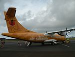 F-OIPI Air Calédonie ATR 42-500 at Isle of Pines Airport.jpg