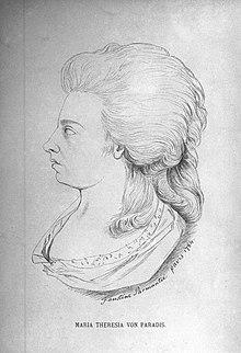 Maria Theresia von Paradis (Source: Wikimedia)