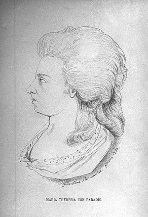 Maria Theresia von Paradis - Maria Theresia von Paradis