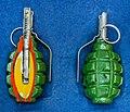 F1 hand grenade (DOSAAF Museum in Minsk) 2.jpg
