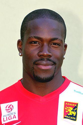 Wilfried Domoraud - Image: FC Admira Wacker Mödling (2013) Wilfried Domoraud (01)
